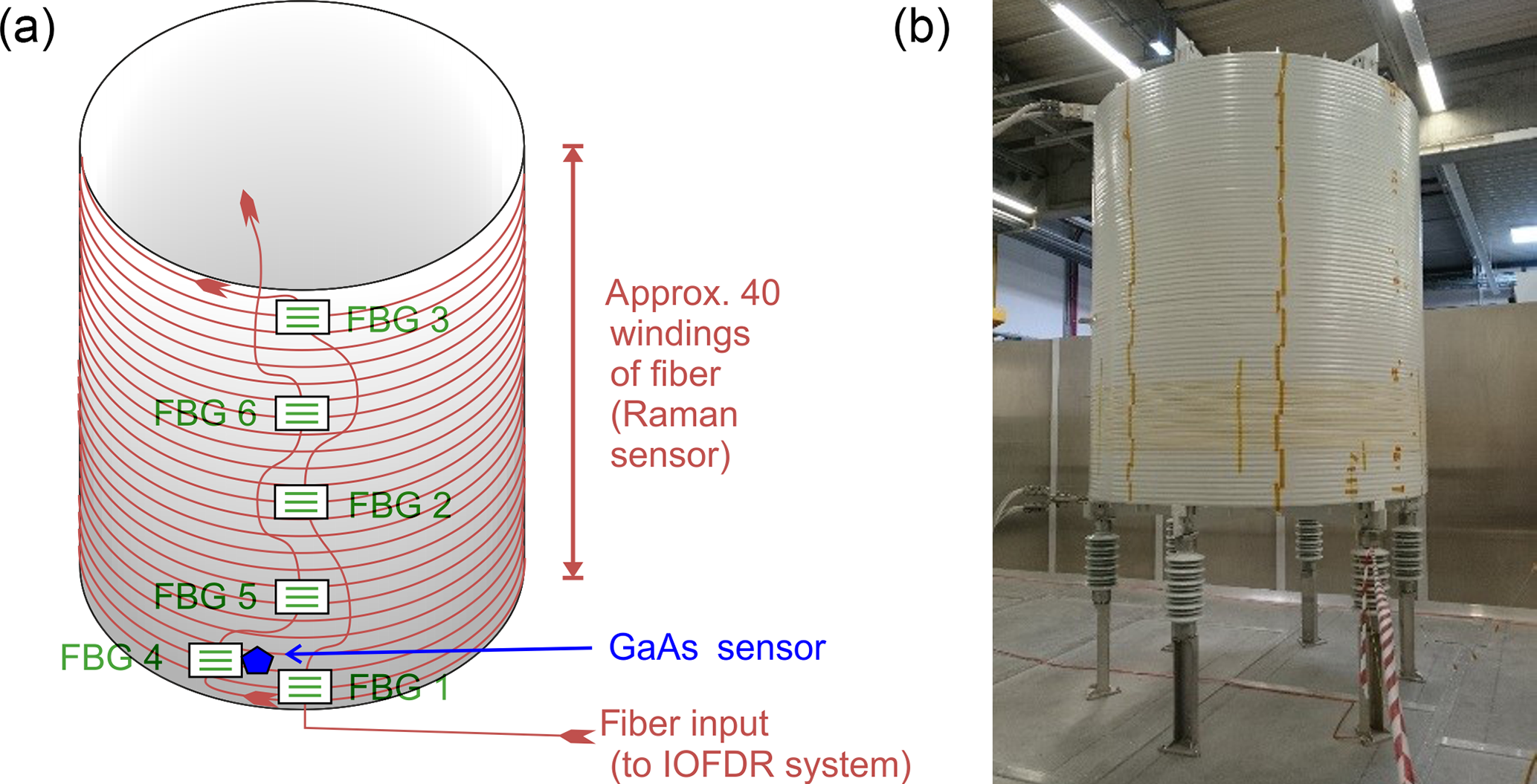 JSSS - Combined distributed Raman and Bragg fiber